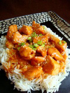 Sesame Chicken @Debbie Arruda Arruda Brookshire Goodner Dinner Mom