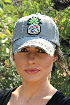 438ed4a02d0 You ll love our new distressed style low-profile trucker hat with a  crystallized