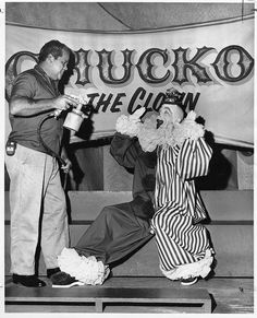 Chucko the Birthday Clown. A local Los Angeles children's show during the 50s and 60s. by clsspace, via Flickr