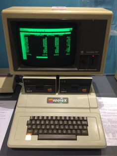 Apple II Europlus at The National Museum of Computing (England)