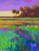 Southern Palmettos, by Betty Anglin Smith