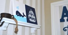 Project Nursery - Whale and Sailboat Nursery Art