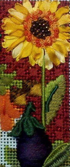 Kelly Clark Needlepoint Handbook: Stumpwork Garland on Lady Rebekkha