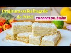 Vegan Food, Vegan Recipes, Cooking Recipes, Nicu, Cornbread, Dessert Recipes, Breakfast, Ethnic Recipes, Sweets