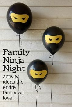 Ninja family night! I love #4 #ad #ninja