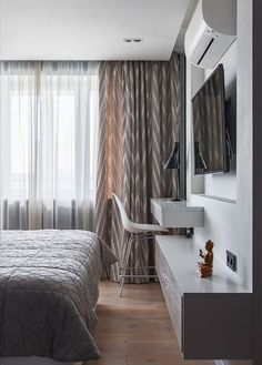 Фотография: Спальня в стиле Современный, Квартира, Проект недели, Москва, ИКЕА, Мила Титова – фото на InMyRoom.ru