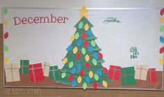12 Months of Bulletin Board Ideas DECEMBER_The Happy Scraps