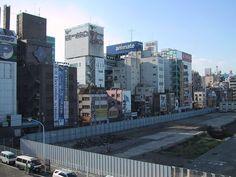 再開発直前の神田市場跡。