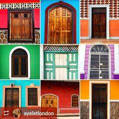 #Follow @ayeletlondon: Doors of #Granada #Nicaragua #ILoveGranada #AmoGranada #Travel #CentralAmerica #GranadaNicaragua