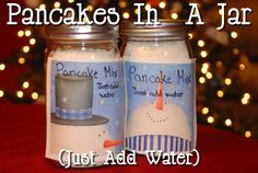 Pancakes In A Jar (Just Add Water)