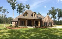 4 Bedroom Louisiana Style Home Plan - 56301SM | Acadian, European, French Country, Southern, Photo Gallery, 1st Floor Master Suite, Bonus Room, Jack & Jill Bath, PDF, Split Bedrooms, Corner Lot | Architectural Designs