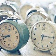 2013 Pantone Color | Greyed Jade Vintage clocks