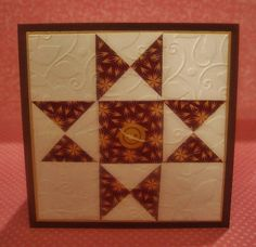 GinaK Designs Quilt Card by scrappykat - Cards and Paper Crafts at Splitcoaststampers