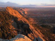 Flatirons, Boulder, share moments