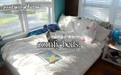Comfy beds - just girly things Dream Rooms, Dream Bedroom, Little Things, Girly Things, Tumblr Quality, Teen Dictionary, Tumblr Rooms, Justgirlythings, Comfy Bed