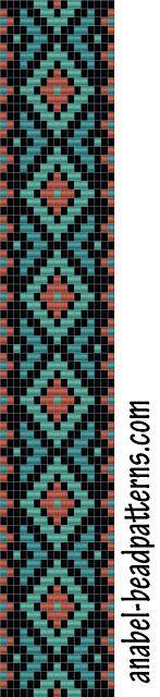 bead loom pattern - bracelet