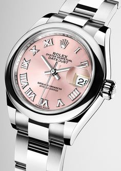 Rolex is introducing a 904L steel version of its classic Lady-Datejust 28. This model features a redesigned, larger 28 mm case and a new-generation mechanical movement, calibre 2236.