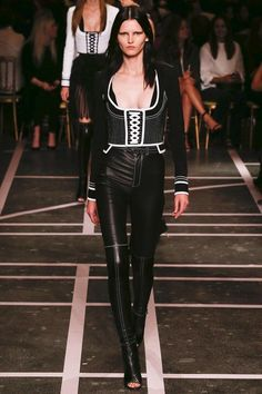 Fringe Fashion I like the idea of wearing a corset with trousers