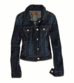 AE Dark Denim Jacket
