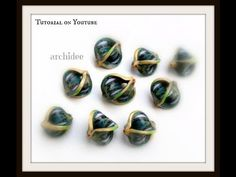 Tutorial   Polymer Clay   DIY Mobius Beads
