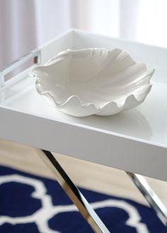 Dekoracja muszla, dzięki której wyczarujesz prawdziwie nadmorski klimat- dostępna na www.hamptons.pl