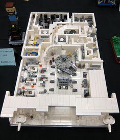 LEGO Microscale - Star Wars : Empire Strikes Back | Hoth Rebel Base