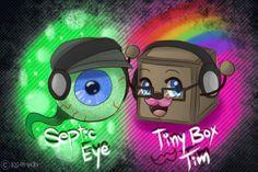 septic eye sam and tiny box tim - Google 搜尋