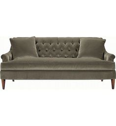 Marler Tufted Sofa from the 1911 Collection collection by Hickory Chair Furniture Co.