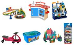 Toys that Get Played With!  A list for toys that will entertain for years and years, along with lists for each age group (6 months -7 years)