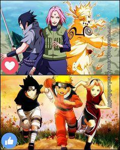 Naruto vs Naruto shippuden