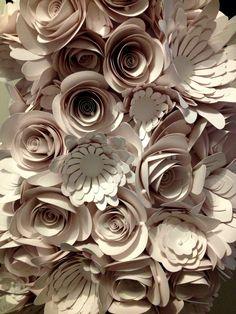 Bea Szenfeld Paper flowers