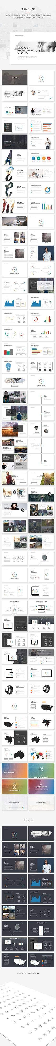 c8db5096f8392 Buy SNJA Powerpoint Presentation by kylyman on GraphicRiver. SNJA SLIDE  Powerpoint Presentation Perfect Presentation Template for your business or  personal ...