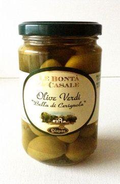 Des olives extraordinaires (de la région des Pouilles) !
