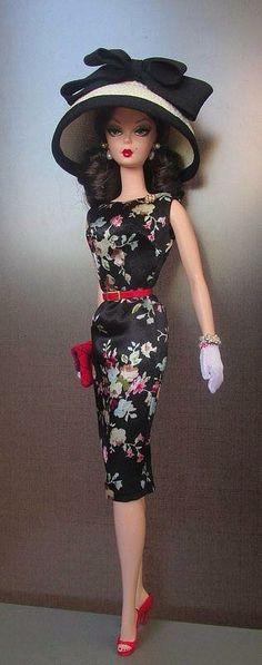 Robe fleurie style fifties