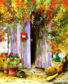 Wonderful Paintings by Gleb Goloubetski-AmO Images-AmO Images