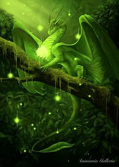 Forest dragon Mystical and magical. Beautiful. the most common type of dragon, friendly but hard to spot as their colouring ranges from freash greens to the red yellow and orange of their habitat