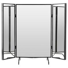 KARMSUND black, Table mirror, 80x74 cm - IKEA
