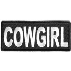 Cowgirl Patch