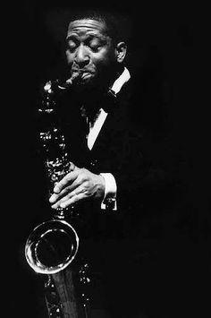 De zwart wit fotos van jazzlegendes kunst op zich.