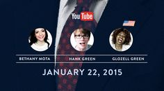 On January 22, YouTube creators Bethany Mota, GloZell and Hank Green will interview President Obama about the top concerns facing them and their audiences. O...