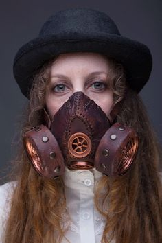 #steampunk Mode Steampunk, Steampunk Mask, Steampunk Cosplay, Steampunk Design, Steampunk Fashion, Victorian Goth, Steampunk Accessories, Cybergoth, Creative Portraits
