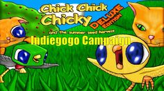 Pacman style Indie game Chick Chick Chicky Deluxe