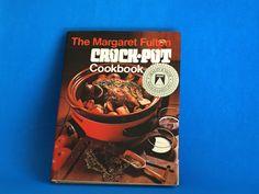 Margaret Fulton Crock-Pot Cookbook - 1977 Retro Monier Crockpot Crock Pot Cook Book - 70s Kitchen Hardcover Recipes by FunkyKoala on Etsy