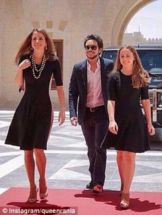 Princess Iman of Jordan rivals Queen Rania in the style stakes