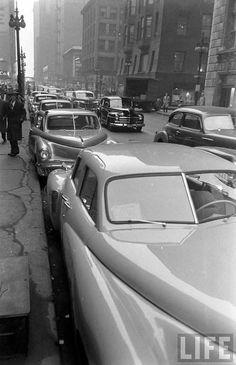 Street Scene, New York City, 1948