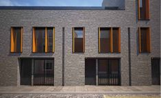 Grimsby Street by Landolt + Brown Timber Architecture, Residential Architecture, Architecture Details, Brick Building, Building A House, Wood Facade, Mews House, Brick Detail, Arch House