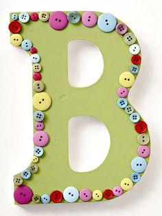 Button Monogram