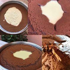 Σοκολατένιο κεικ με κρεμα βανίλια Κολασηηη Εξαιρετικη συνταγή φανταστικό υπέροχο αποτέλεσμα.. Υλικά για την κρέμα ·780 γάλα (4 φλιτζάνια) ·3 κουταλιές σούπας κορν φλάουερ η άνθο αραβοσίτου βανίλια ·2 κουταλιές σούπας αλεύρι γ.ο.χ ·5 κουταλιές σούπας ζάχαρη ·1 βανίλια για το κορν φλάουερ ·λίγο βούτυρο Loading... για το κέικ ·3 αυγά ·1 φλυτζ. ζάχαρη ·μισό … Pudding, Ice Cream, Sweets, Cooking, Desserts, Greek Beauty, Cakes, Cake, Recipes