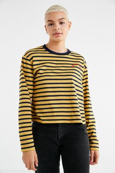 Shop You Got This Striped Long Sleeve Tee at Urban Outfitters today. We carry all the latest styles, colors and brands for you to choose from right here.