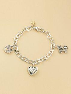 David Yurman Child's Charm Bracelet